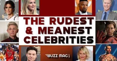 Rudest and meanest Celebrities