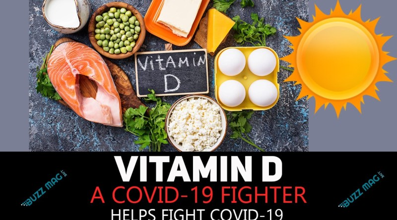 Vitamin D helps fight Covid-19