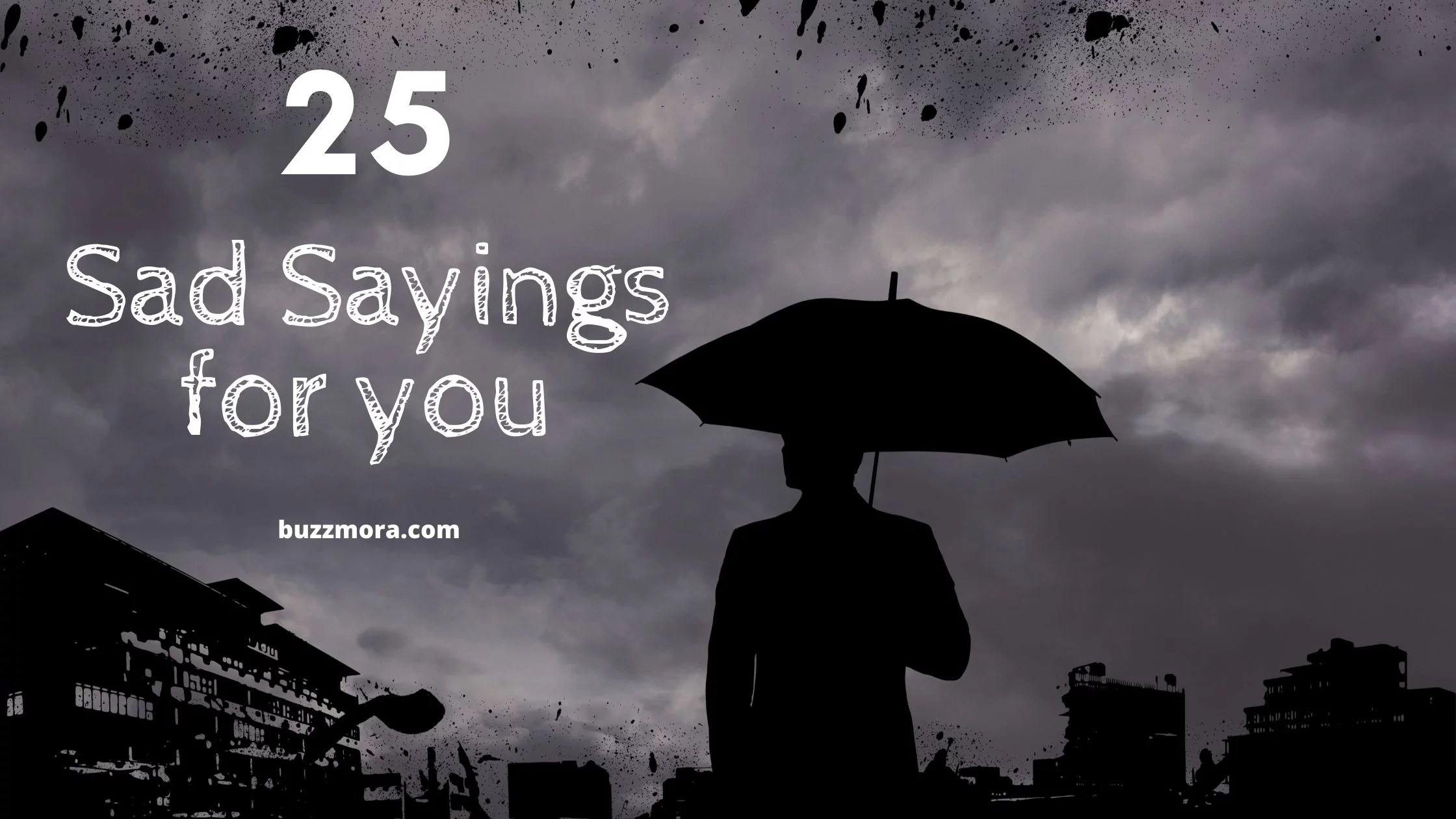 Depression Quotes Best 25 Sad Sayings For You