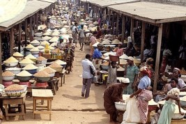 Image result for Food stuff in Lafia market
