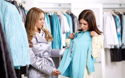 Fashion Lady Shopping Cartoon 1