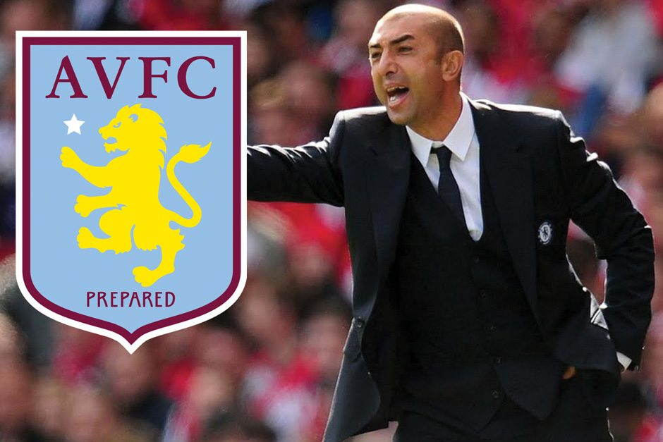 Image result for Former Chelsea' Manager Roberto Di Matteo sacked by Aston Villa