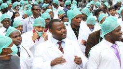 Image result for Resident doctors begin indefinite nationwide strike