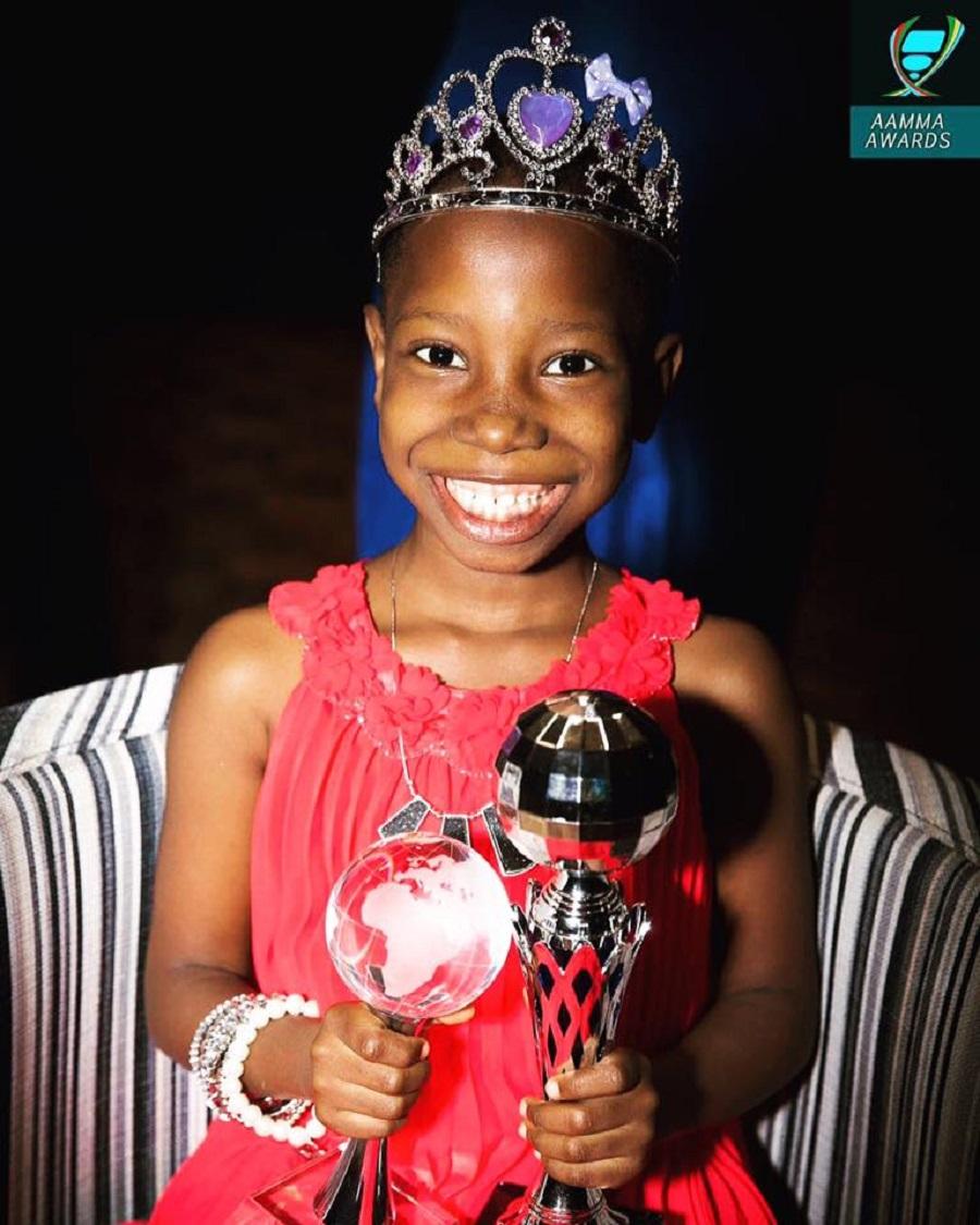 Image result for Emmanuella Samuel africas youngest youtube award winner