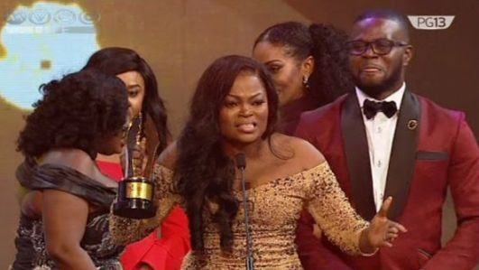 Image result for funke Akindele AMVCA 2017