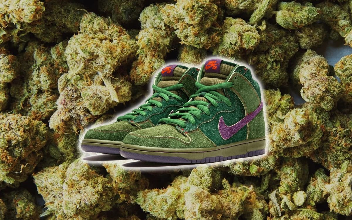 Nine of the Best Weed Inspired Sneakers