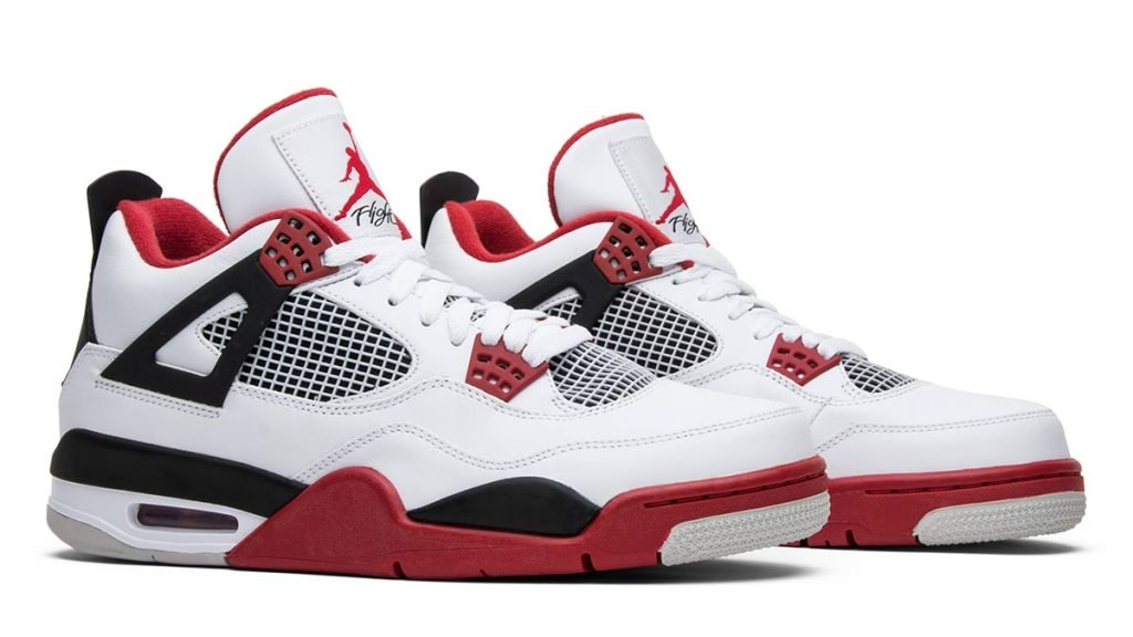 """Air Jordan 4 """"Fire Red"""" On Track for a"""