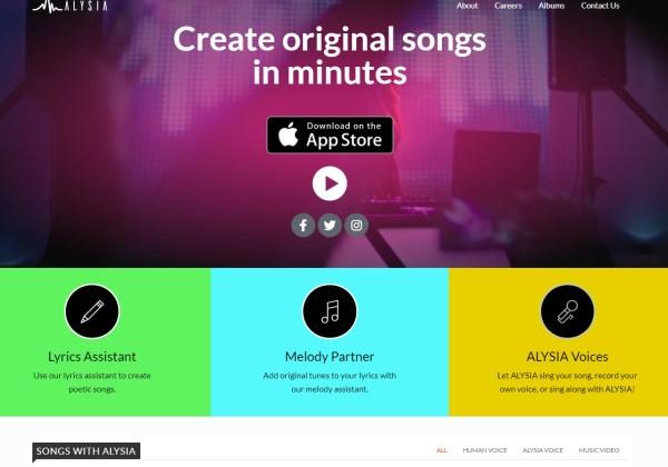 ALYSIA - Create Original Songs in Minutes