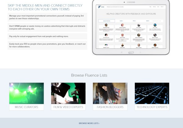Fluence - People-Powered Promotions