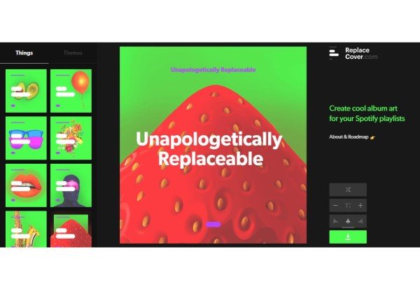 Replace Cover - Create album art for your Spotify playlists