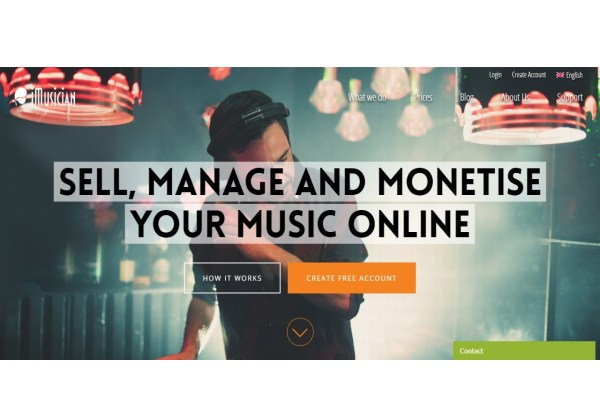 Sell music online - Digital Music Distribution Publishing