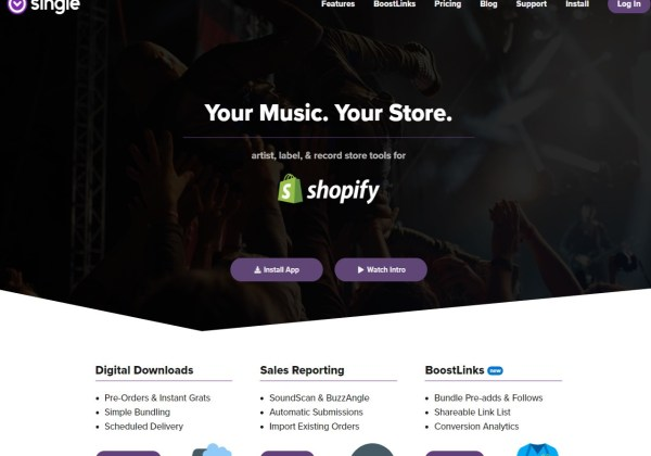 Single Music Shopify Music Distribution