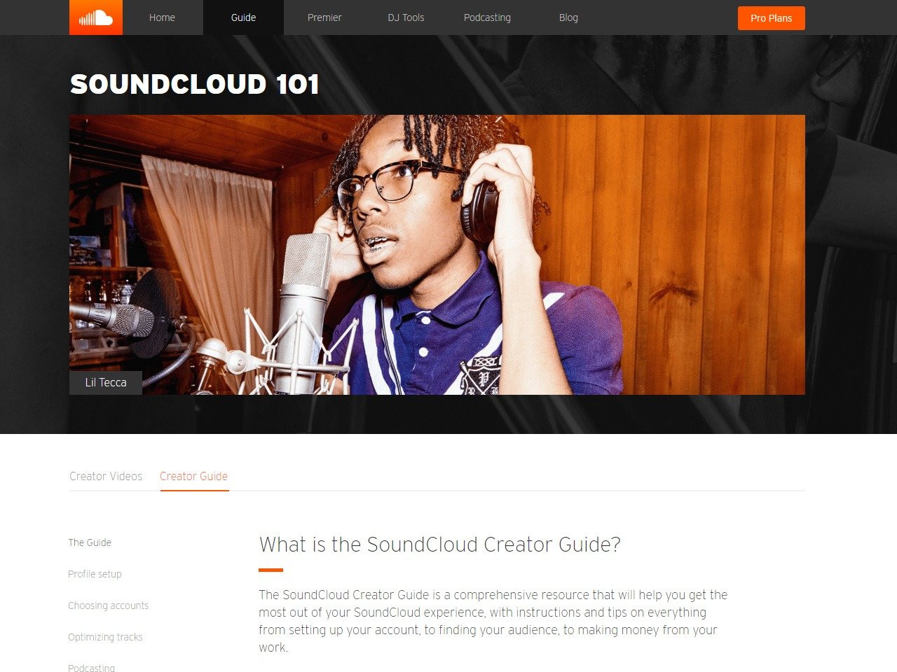 SoundCloud Creator Guide