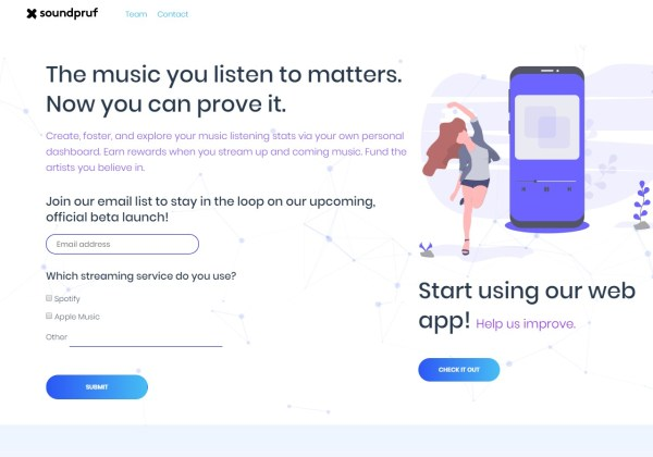 Soundpruf What music you listen to matters Now you can prove it