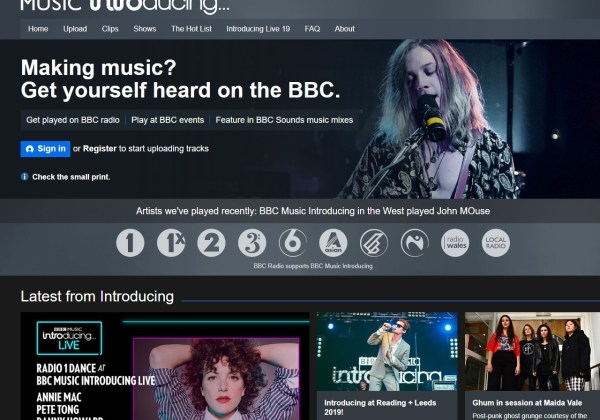 Upload Your Music Here - BBC Music Introducing