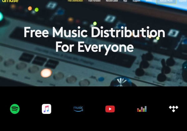 Free music distribution Upload your music online - Amuse
