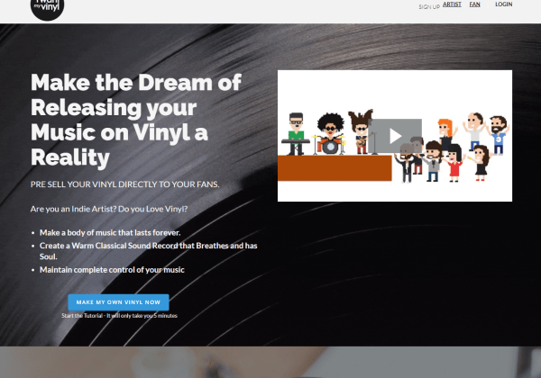 I Want My Vinyl - Release your music on Vinyl