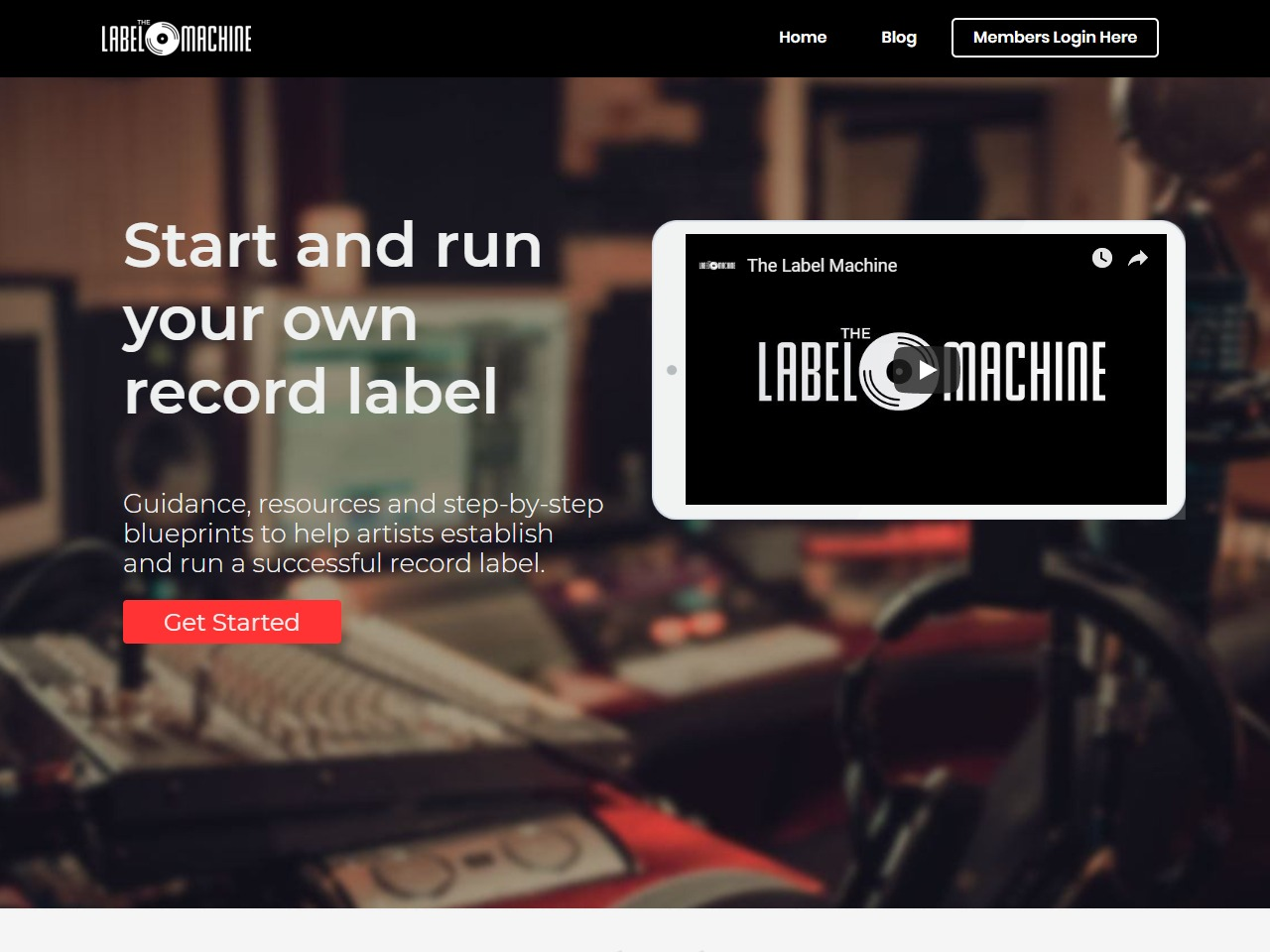 Label Machine - Record Label Course online