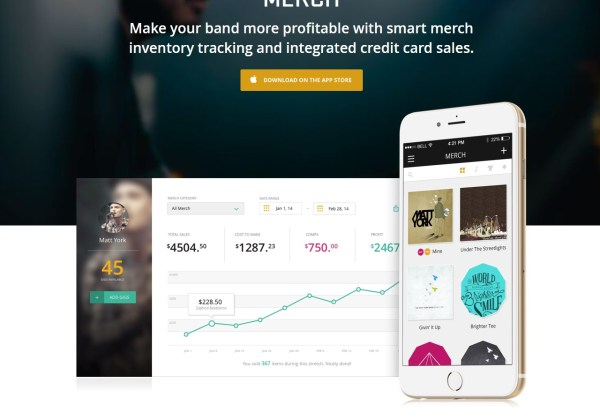 Merch App - track and manage your merch
