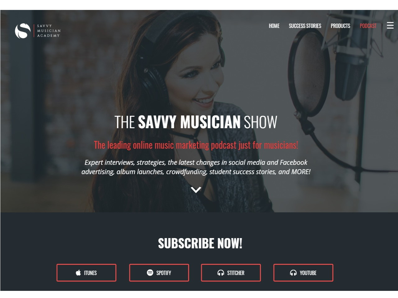 New Podcast Savvy Musician Academy