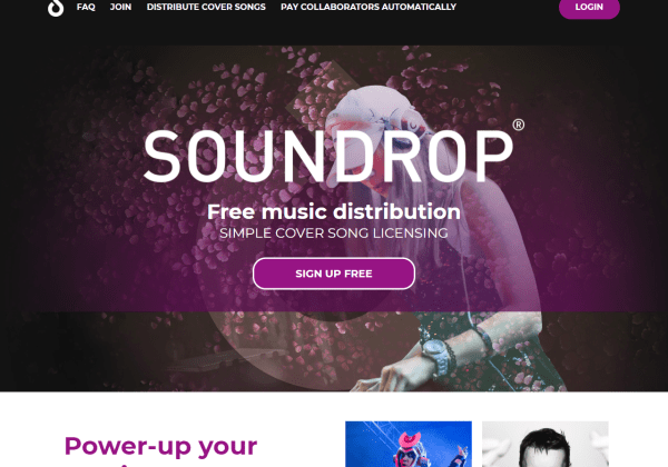 soundrop distribution