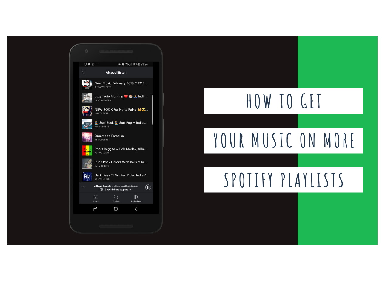 how to get on more spotify playlists