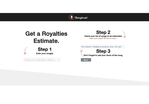 Estimate Your Streaming Royalties