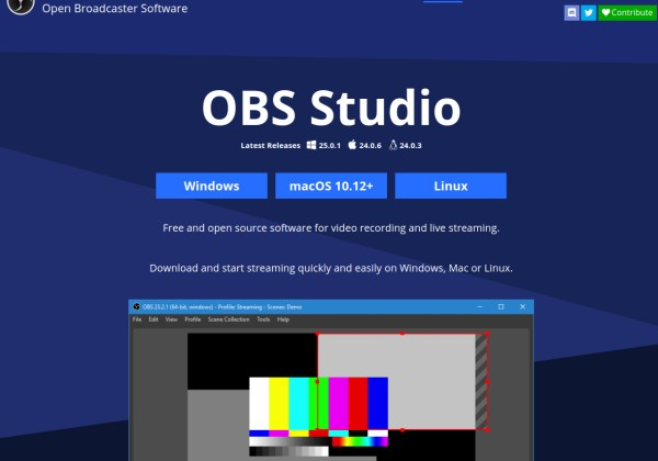 Open Broadcaster Software OBS-studio