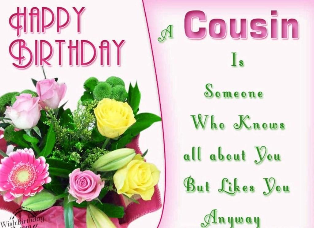 happy birthday cousin 55