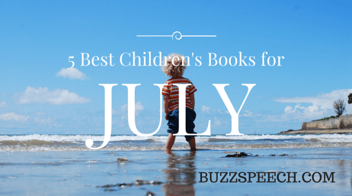 best children's books for July