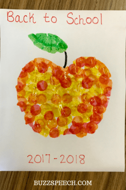 Preschool Apple Crafts
