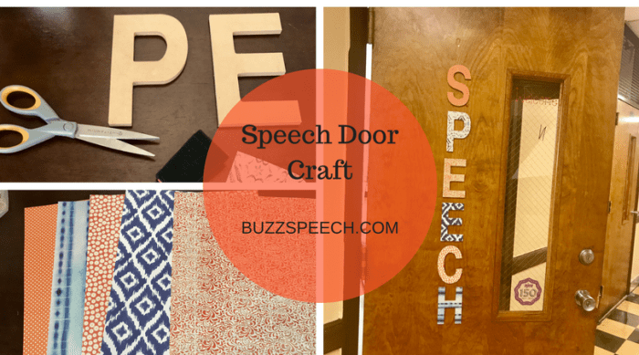 Speech Door Craft