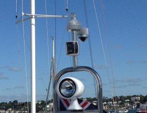 Stern docking camera