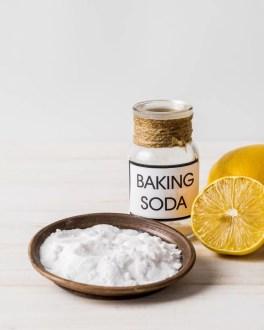 baking soda to remove mole on skin