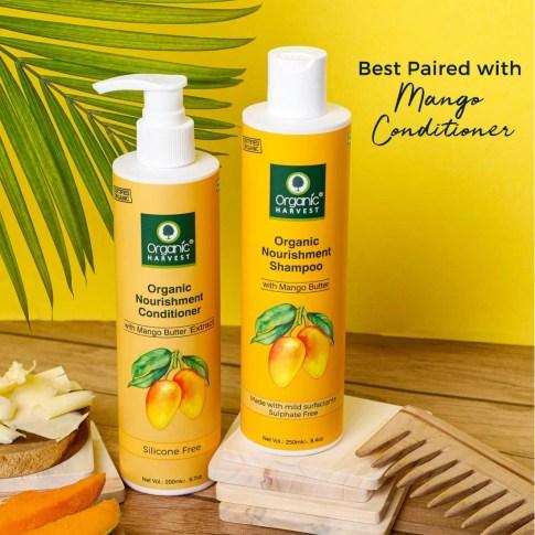 Organic Harvest fruit base Mango Shampoo