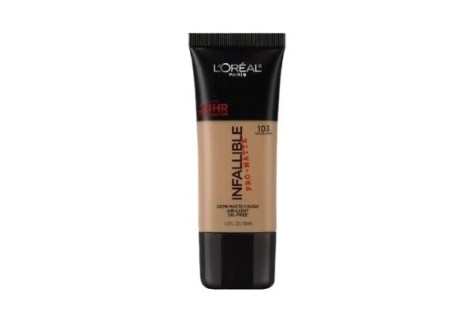 loreal drugstore foundation for oily skin