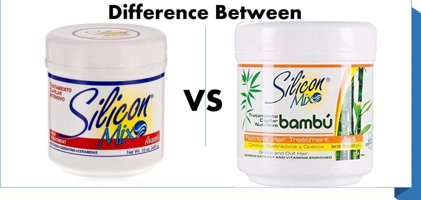 Silicon mix treatment silicon bambu hair treatment, silicon mix vs silicon mix bambu difference