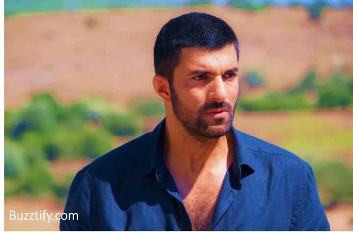 Engin Akyurek in shirt and short hair turkish men