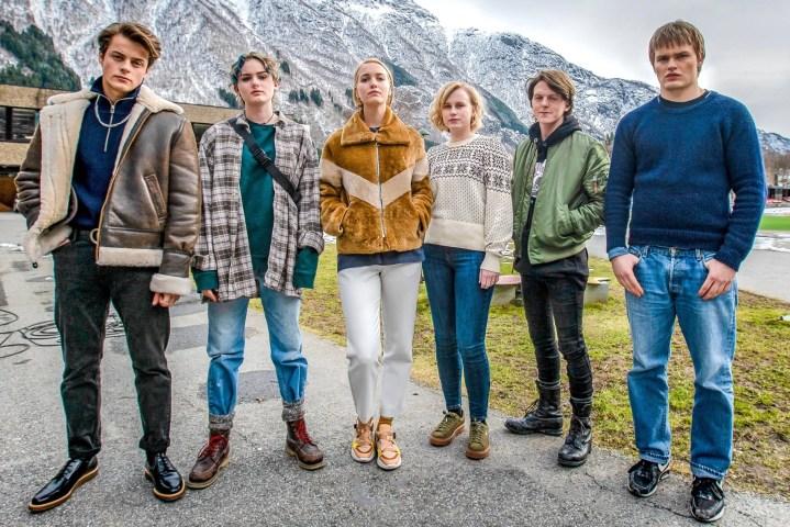 Ragnarok Cast, David Stakston, Herman Tømmeraas, Theresa Frostad Eggesbø, Emma Bones, Ylva Bjørkaas Thedin