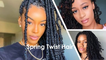 Spring Twist hair cost maintenance how to do it