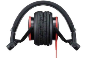 Sony MDRV55 Red Extra Bass & DJ Headphones