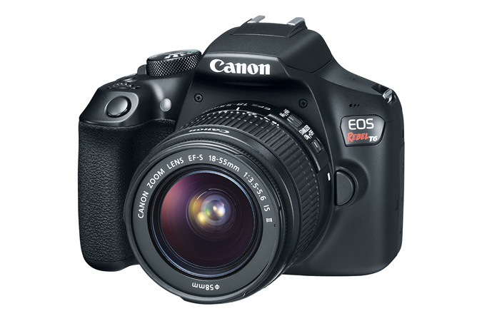 Canon EOS Rebel T6