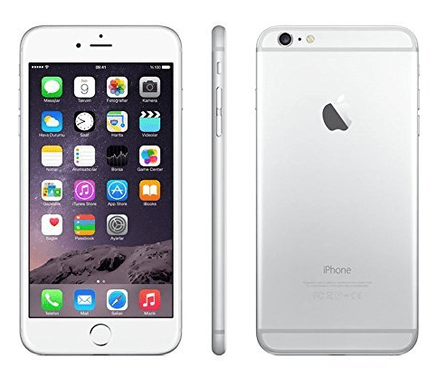 Apple iPhone 6 Plus 16GB (Silver)