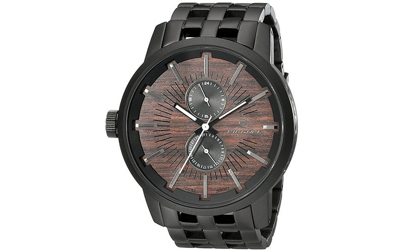 Rip-Curl-Mens-A2785-Analog-Display-Negro-Reloj