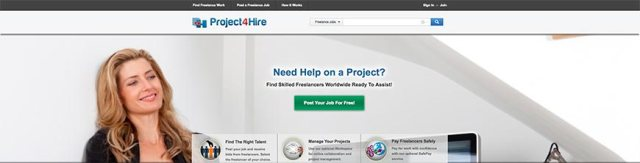 project4hire_freelance_website