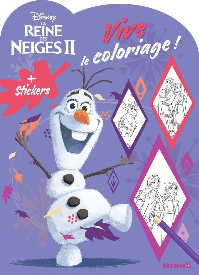 Disney La Reine Des Neiges 30 - Vive le coloriage ! Olaf