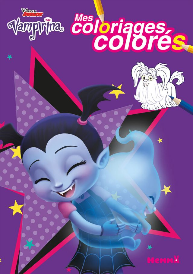 Disney Vampirina - mes coloriages colorés Pas Cher  Bureau Vallée