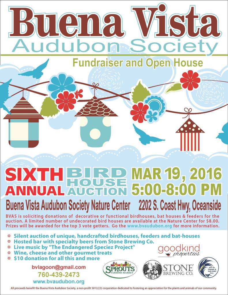 bird house poster for MAR 2016