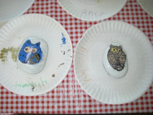 summer camp 2016 painted rocks