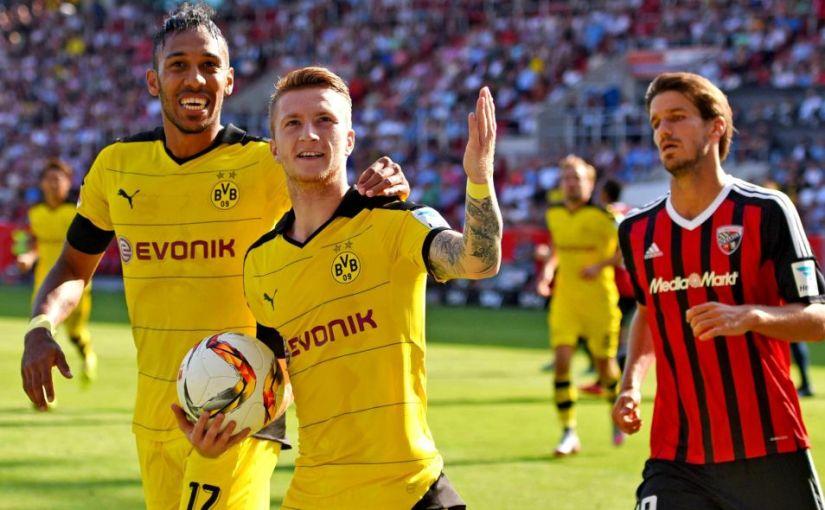 Borussia Dortmund gegen Ingolstadt